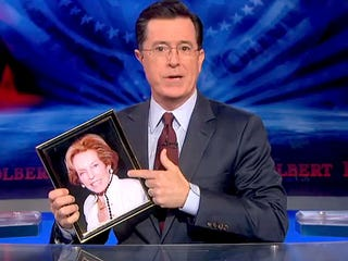 Illustration for article titled Stephen Colbert's mother Lorna has died