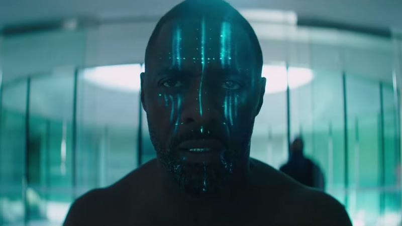 Idris Elba with super powers.