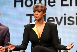 Tyra Banks at the 2015 Summer TCA Tour at the Beverly Hilton Hotel Aug. 4, 2015, in California.Frederick M. Brown/Getty Images