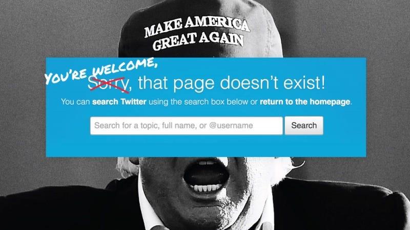 Illustration for article titled Twitter explica por qué no ha suspendido la cuenta personal de Donald Trump tras sus tuits amenazantes