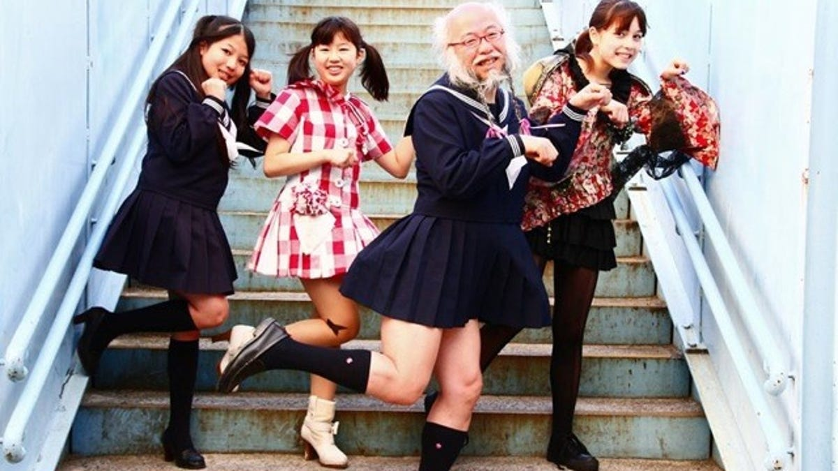 This Is Just a Middle-Aged Man Dressed as a Japanese Schoolgirl