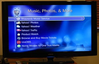Illustration for article titled TiVo Rocks the Rhapsody Music Service