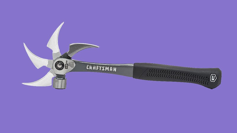 Illustration for article titled Craftsman's New Hammer Uses an Adjustable Claw to Maximize Prying Leverage