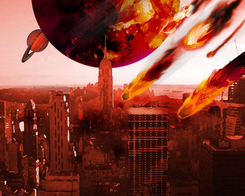 Illustration for article titled Rock You Like An Apocalypse: Art That Destroys The World!