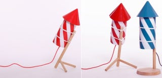 Illustration for article titled Make Like Wile E. Coyote With These Adorable Firecracker Lamps