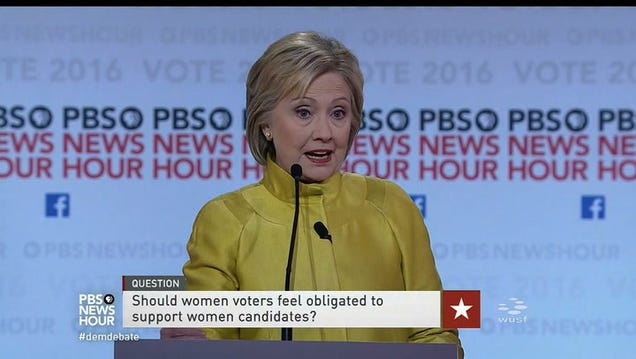 Hillary Clinton Leaves Open Possibility That Women Who Dont Vote for Her Are Going to Hell