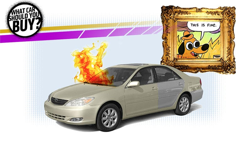 Illustration for article titled I'm Looking For A Cheap Ride That I Won't Care About! What Car Should I Buy?