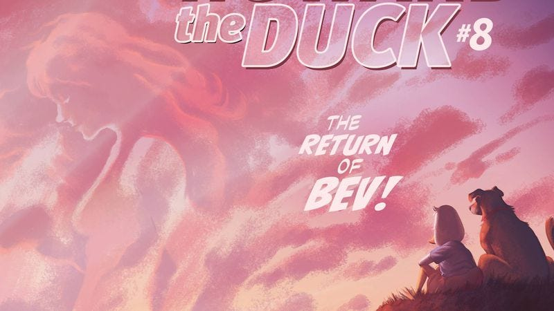 Illustration for article titled Howard The Duck hits an emotional high point with Beverly's return