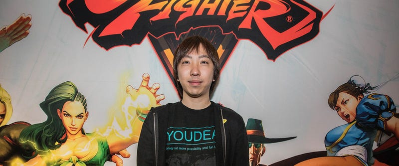 "Japan's Fujimura ""yukadon"" Atsushi won his first Street Fighter V tournament of the 2017 season this past weekend at DreamHack Summer. Photo via Capcom/Stephanie Lindgren"