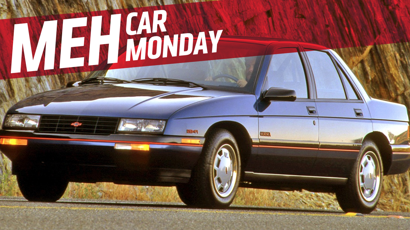 All Chevy chevy corsica : Meh Car Mondays Begins! Let Us Salute The Chevrolet Corsica