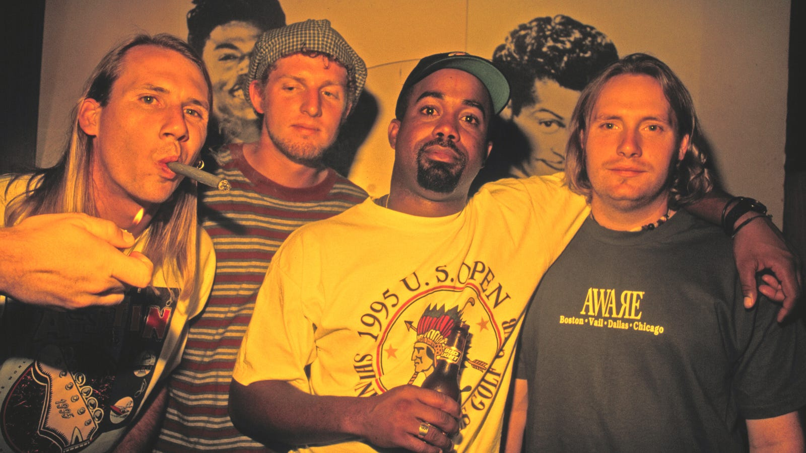 Unleash the cargo shorts: Hootie & The Blowfish are back next year with a new album and tour
