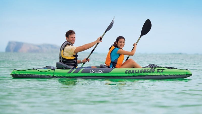 Intex 2-Seat Inflatable Kayak | $55 | Walmart