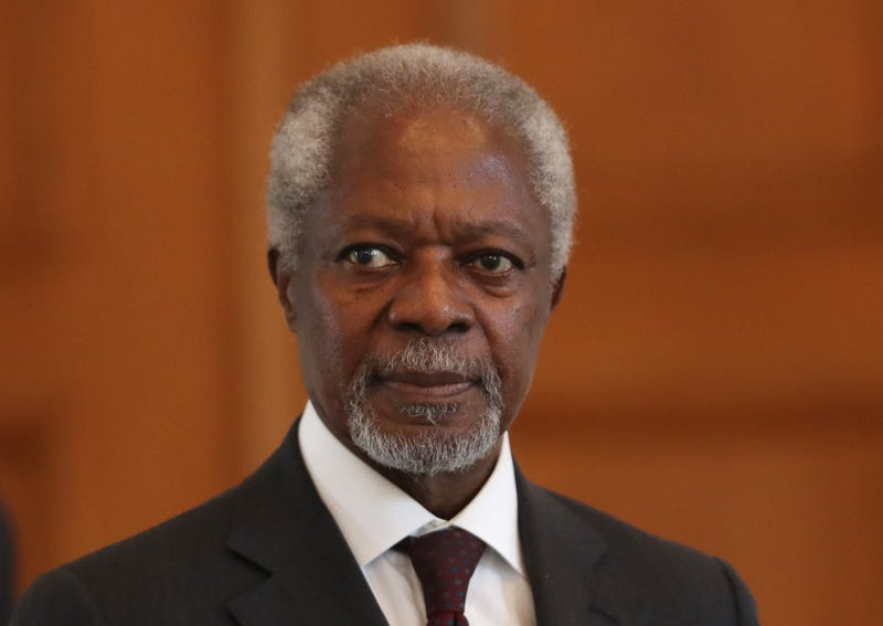 Illustration for article titled Kofi Annan, Former Secretary-General of the United Nations, Dead at 80