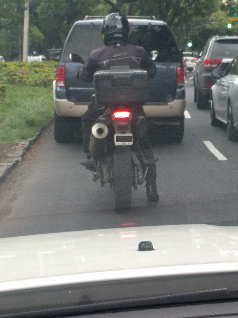 Note: its not my family's GS, this is someone who forgot to list the Lower Seat option when buying their bike.