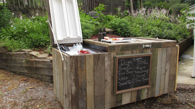 Turn an Old Fridge into an Awesome Party-Friendly Cooler