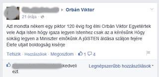 Illustration for article titled 120 évig fog élni Orbán Viktor
