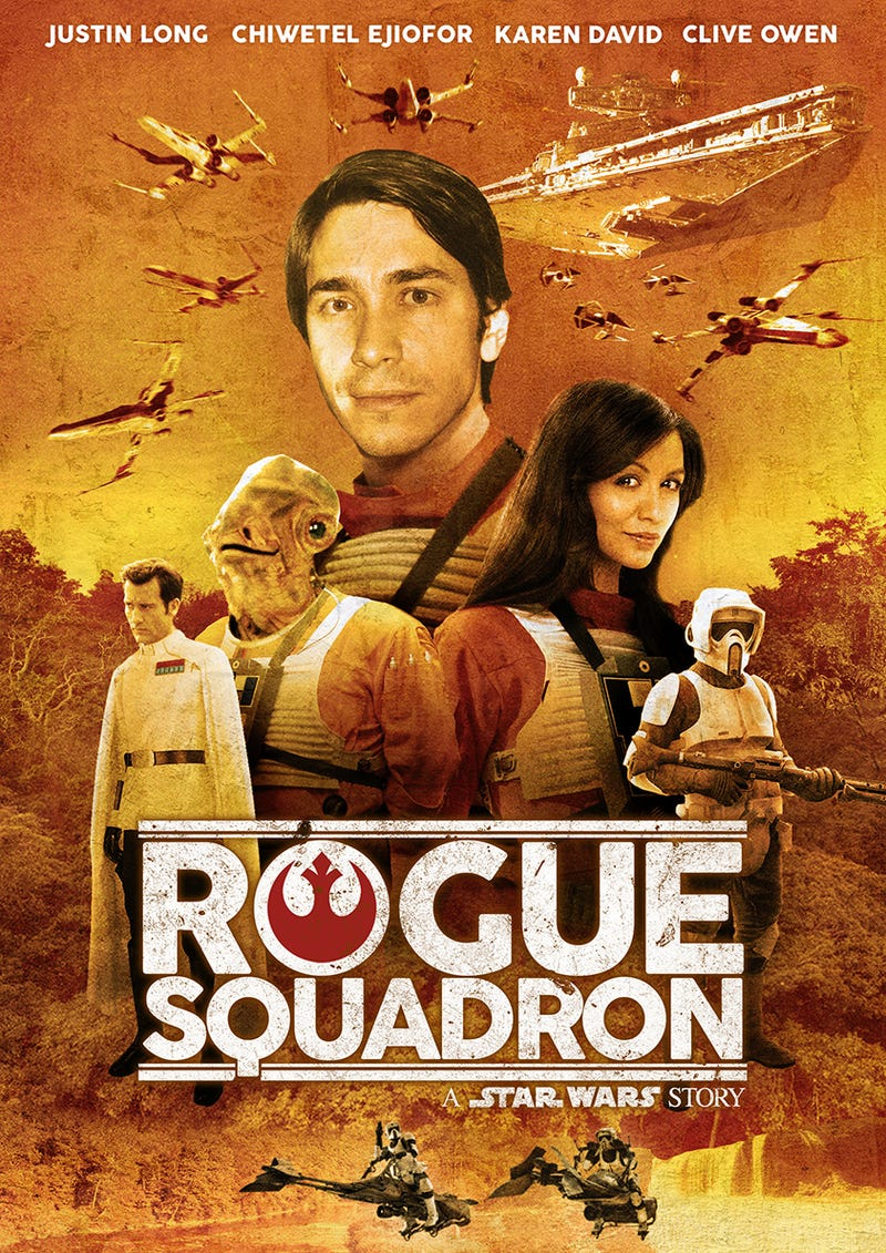 Illustration for article titled Rogue Squadron - A Star Wars Story