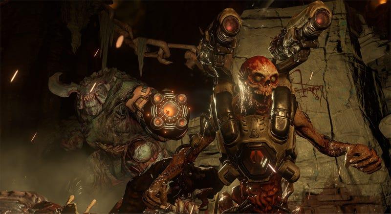 Illustration for article titled En 2017 podrás jugar Doom y Fallout 4 de la mejor forma posible: en realidad virtual