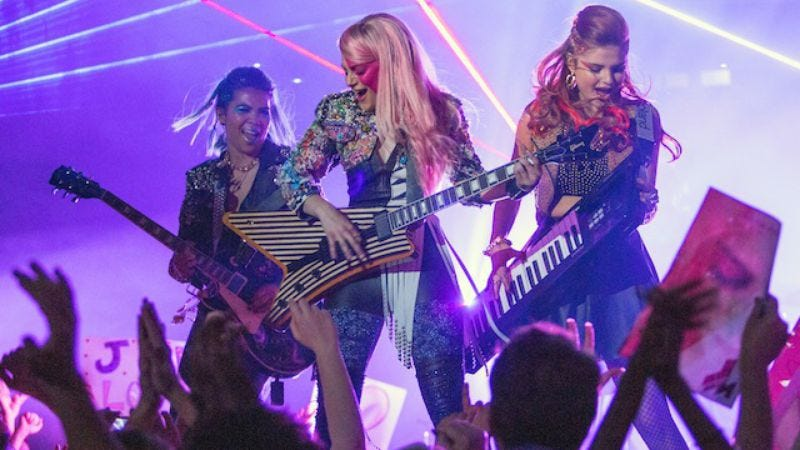 Illustration for article titled Synergy projects a synopsis and clearer image of Jem And The Holograms