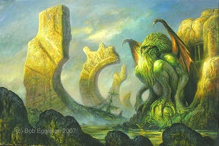 Illustration for article titled Bob Eggleton: The Texture of Monsters