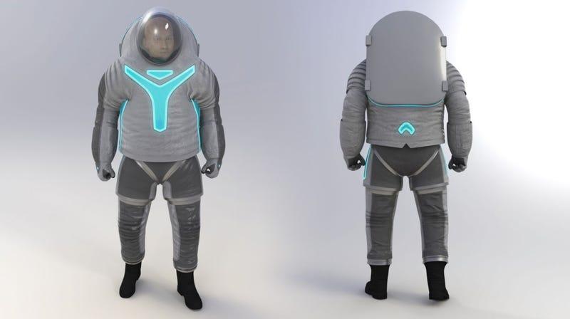 Illustration for article titled La NASA revela el aspecto de su nuevo traje espacial