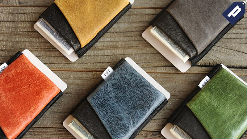 Illustration for article titled Avoid Bulky Pockets: Save Space With The Slim TGT Wallet (From $30)