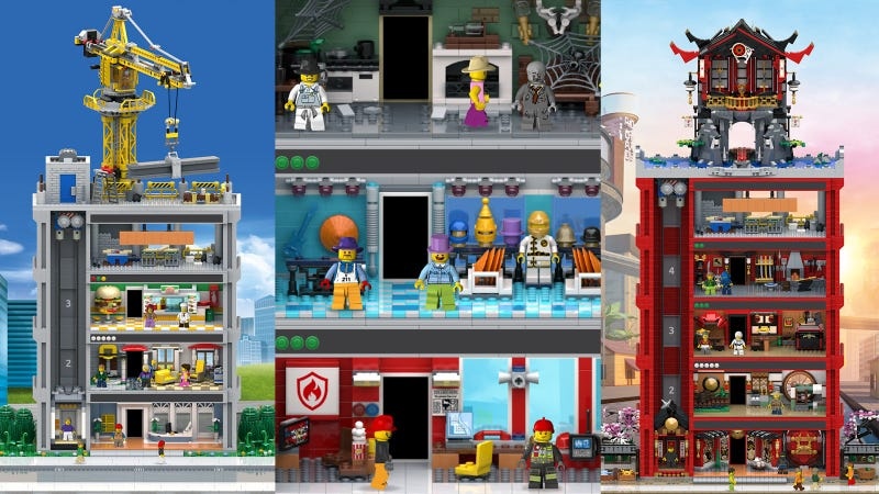 Illustration for article titled Lego Makes Tiny Tower Just A Little Bit Better