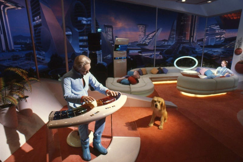 Scene of the future from the extinct Epcot attraction Horizons, closed in 1999 (Disney Parks)