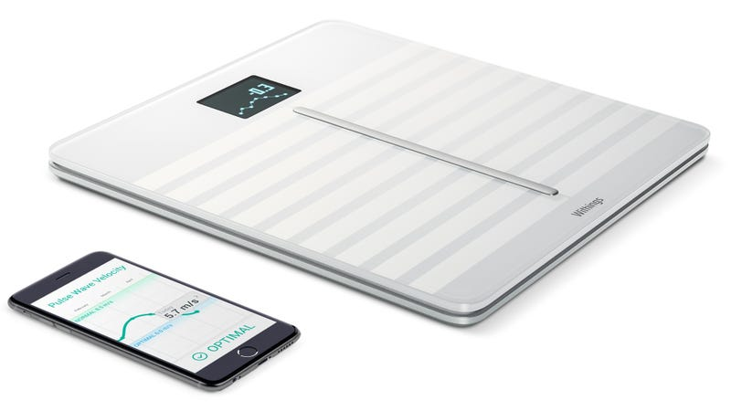 Illustration for article titled Withings' Connected Scale Now Tracks the Health of Your Heart Too