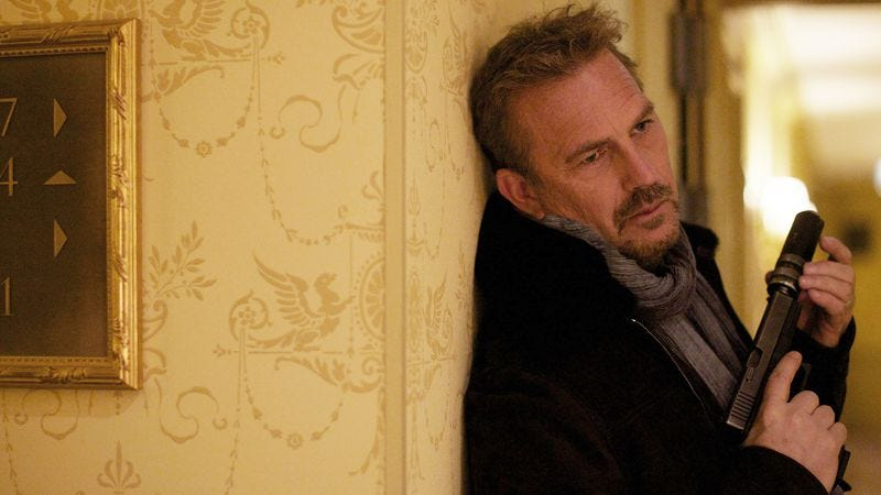 Illustration for article titled Kevin Costner's very particular set of skills doesn't apply to 3 Days To Kill