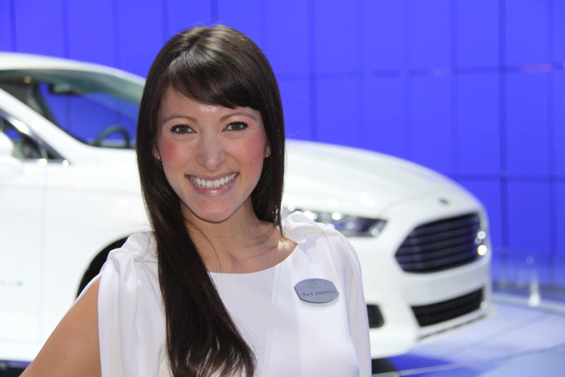 Illustration for article titled The Booth Professionals Of The 2012 Detroit Auto Show