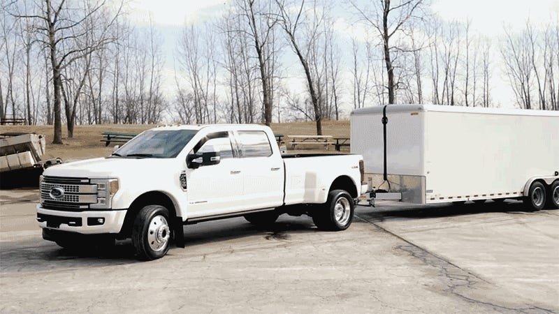 The Nightmare That Is Backing Up a Huge Trailer Just Got Easier