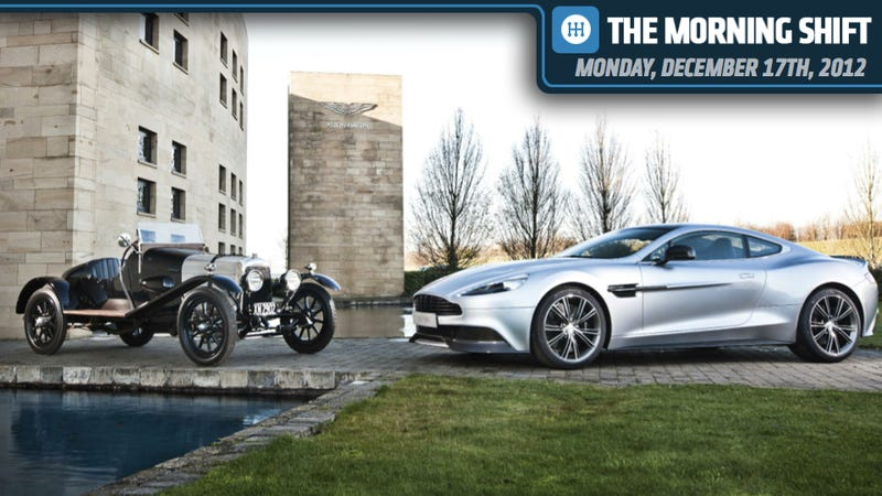 Illustration for article titled Mercedes Is In A Rage, Volkswagen Goes On A Raid, And Aston Martin Throws A Rave