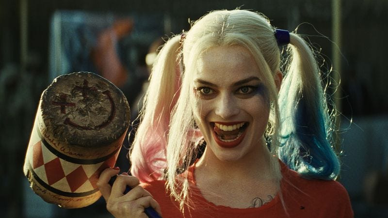 Margot robbie harley quinn suicide squad nude sex