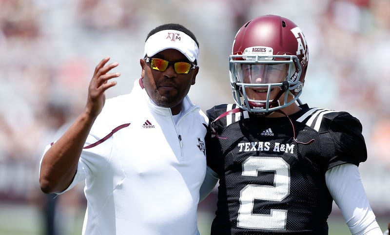 Illustration for article titled Kevin Sumlin Helped Johnny Manziel Overturn His Suspension