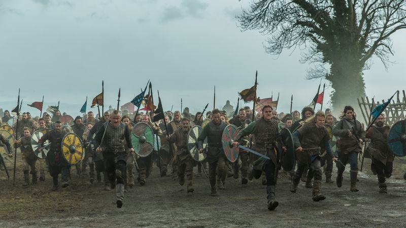 Vikings (Photo: Jonathan Hession/History)