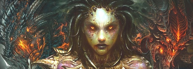 Illustration for article titled Blizzcon 2010 Schedule Has Diablo III, No New StarCraft