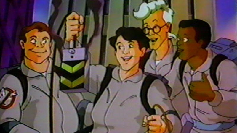 Illustration for article titled Sony and Ivan Reitman are rebooting the animated Ghostbusters