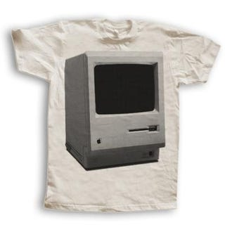 Illustration for article titled First Macintosh Shirt Is Stylish in its Simplicity