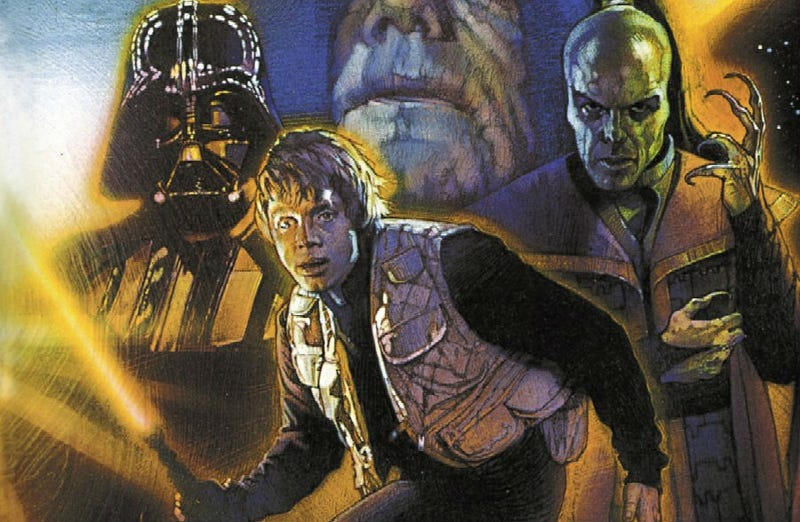 Illustration for article titled The Force AwakensAlmost Shared The Title With This Expanded Universe Novel?