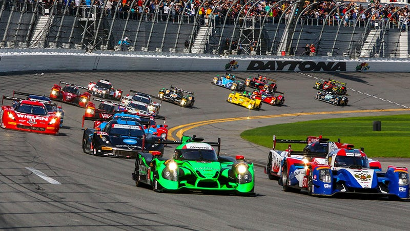 Illustration for article titled Guess who's going to the 2018 Rolex 24hrs of Daytona?