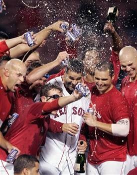 Illustration for article titled Red Sox Clinch Playoffs, Celebrate Accordingly