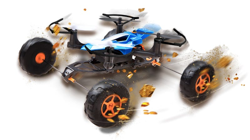 Illustration for article titled Land, Sea, and Air: This RC Car Goes Anywhere