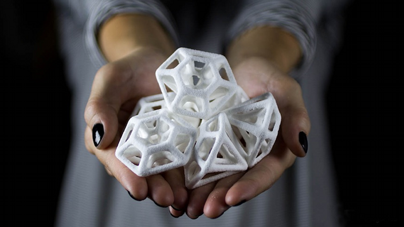 Illustration for article titled 3D Printed Sugar Is Intricately Beautiful