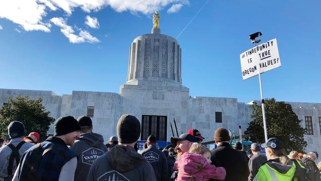 Oregon Republicans Are On the Run Again Over Climate Bill Vote
