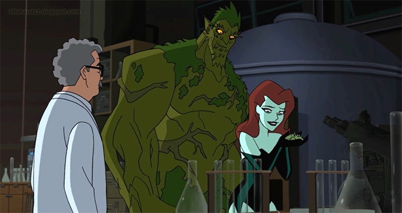 Floronic Man as seen in the 2017 animated film Batman and Harley Quinn.