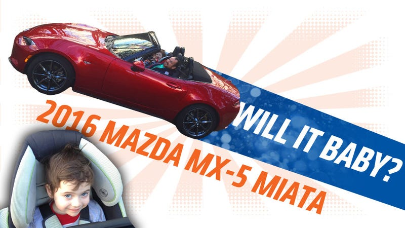Illustration for article titled 2016 Mazda Miata: Will It Baby?