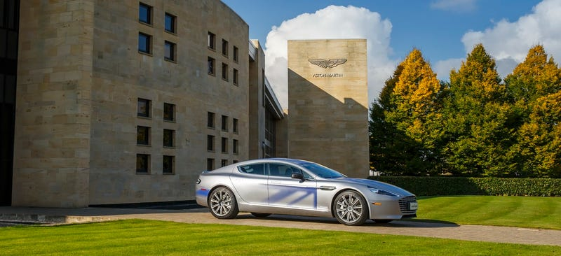 Illustration for article titled The Chinese Really Want Aston Martin To Make An Electric Rapide