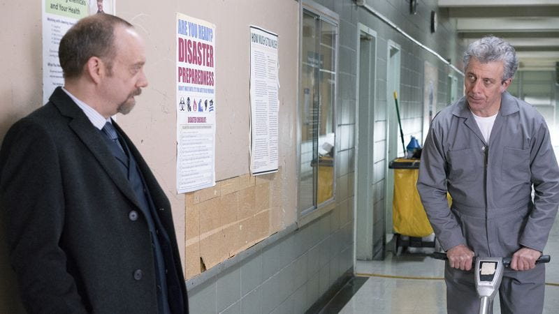 Paul Giamatti, Eric Bogosian (Photo: Showtime)