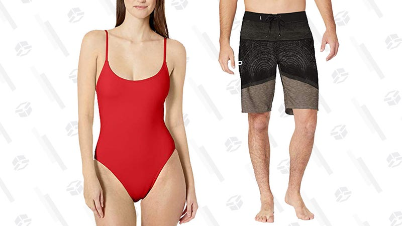 Dive Into This Gold Box Filled With Discounted Swimwear